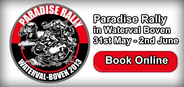 Paradise Rally in Waterval Boven 2013